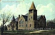 Congregational Church - Appleton, Wisconsin WI Postcard