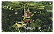 Place of Pilgrimage - Holy Hill, Wisconsin WI Postcard