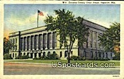 Douglas County Court House - Superior, Wisconsin WI Postcard