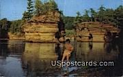 Rocky Island Region - Wisconsin River Postcards, Wisconsin WI Postcard