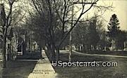 Real Photo - Main St Residence - Brandon, Wisconsin WI Postcard