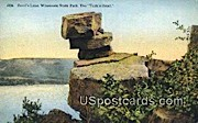 Devil's Lake - Wisconsin State Park Postcards, Wisconsin WI Postcard