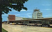 General Mitchell Field Air Terminal - MIlwaukee, Wisconsin WI Postcard