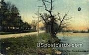 White River - Burlington, Wisconsin WI Postcard