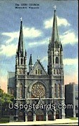 Gesu Church - MIlwaukee, Wisconsin WI Postcard
