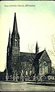Gesu Catholic Church - MIlwaukee, Wisconsin WI Postcard