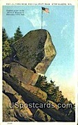 Sliding Rock, Rib Hill - Wausau, Wisconsin WI Postcard