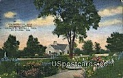 Administration Building Botanical Gardens - MIlwaukee, Wisconsin WI Postcard