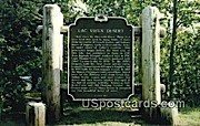 Official Marker, Land O'Lakes - Phelps, Wisconsin WI Postcard