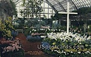 Easter Flower, Mitchell Park Conservatory - MIlwaukee, Wisconsin WI Postcard