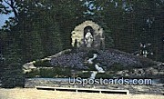 Shrine of the Mother of Divine Grace - Delavan, Wisconsin WI Postcard
