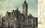 Post Office - MIlwaukee, Wisconsin WI Postcard