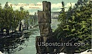 The Dalles - St. Croix River, Wisconsin WI Postcard