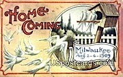 Milwaukee, Wis Postcard      ;      Milwaukee, Wisconsin
