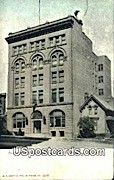 Young Women's Christian Association Building - MIlwaukee, Wisconsin WI Postcard