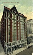 Hotel Wisconsin - MIlwaukee Postcard