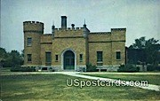 Animal Building, Racine Zoological Park - Wisconsin WI Postcard