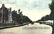 Lake Shore Drive - MIlwaukee, Wisconsin WI Postcard
