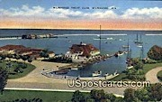 Milwaukee Yacht Club - Wisconsin WI Postcard