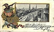 Grand Avenue - MIlwaukee, Wisconsin WI Postcard