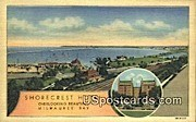 Shorecrest Hotel - MIlwaukee, Wisconsin WI Postcard
