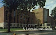 Memorial Library, Marquette University - MIlwaukee, Wisconsin WI Postcard