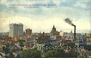 SW, Court House - MIlwaukee, Wisconsin WI Postcard