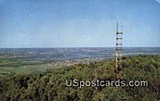 Lookout Tower - Wisconsin River Postcards, Wisconsin WI Postcard