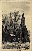 St. Johns Chapel - Racine, Wisconsin WI Postcard
