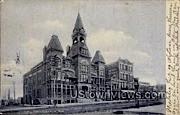 City Hall - Racine, Wisconsin WI Postcard
