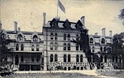 Taylor Hall, Racine College - Wisconsin WI Postcard
