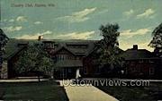 Country Club - Racine, Wisconsin WI Postcard