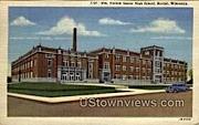 Horlick Senior High School - Racine, Wisconsin WI Postcard