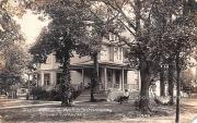 Residence of Mr FH Schenning - Silver Lake, Wisconsin WI Postcard