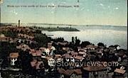 Birds Eye View - Sheboygan, Wisconsin WI Postcard