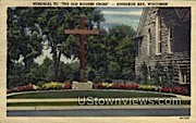Memorial To The Cross - Sturgeon Bay, Wisconsin WI Postcard