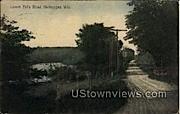Lower Falls Road - Sheboygan, Wisconsin WI Postcard