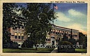 High School - Sturgeon Bay, Wisconsin WI Postcard
