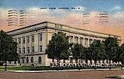 Court House  - Superior, Wisconsin WI Postcard