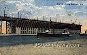 Ore Dock - Superior, Wisconsin WI Postcard