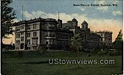 State Normal School - Superior, Wisconsin WI Postcard