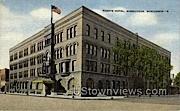 Foeste Hotel - Sheboygan, Wisconsin WI Postcard