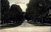Detroit Street  - Sheboygan, Wisconsin WI Postcard
