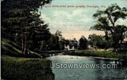 Pigeon River - Sheboygan, Wisconsin WI Postcard