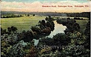 Horseshoe Bend - Sheboygan, Wisconsin WI Postcard