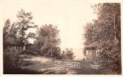 Grand View Cottages - Tomahawk Lake, Wisconsin WI Postcard