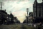 Main St. - Sheboygan, Wisconsin WI Postcard