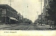 8th St. - Sheboygan, Wisconsin WI Postcard