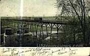 Wells St. Viaduct - MIlwaukee, Wisconsin WI Postcard