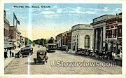 Wisconsin Ave. - Neenah Postcard